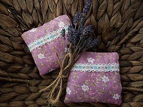 Úžitkový textil - Levanduľový vankúšik 1 ks - 7255083_