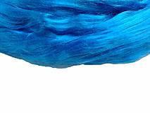 Textil - Hodváb modrý - 7254214_