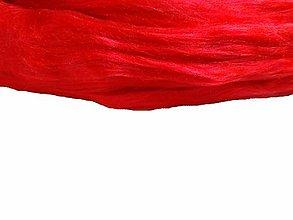 Textil - Hodváb červený - 7254215_