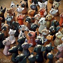 Darčeky pre svadobčanov - Psíkovia a mačičky - menovky/darčeky pre svadobných hostí - 7257610_