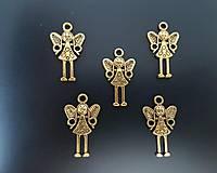 Prívesok zlatý anjelik