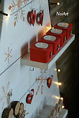 Dekorácie - Vianočný stromček prírodný biely - 7261295_
