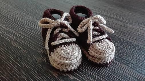c9251029c3362 Háčkované tenisky / Badi - SAShE.sk - Handmade Topánočky