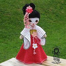 Návody a literatúra - Háčkovaná panenka Gejša - 7259244_