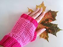 Rukavice - Rukavičky Pink I - VÝPREDAJ - 7258790_