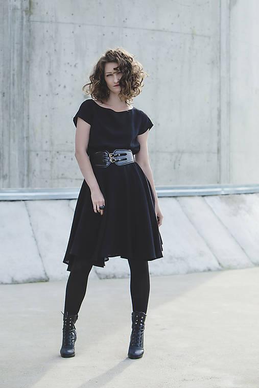 Šaty - PAOLA - vlněné šaty - 7260397_
