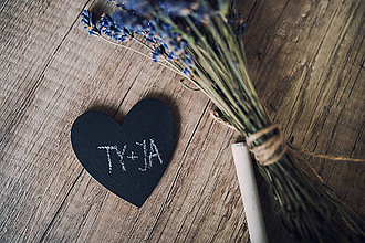 Darčeky pre svadobčanov - Tabuľová magnetka - 7260845_