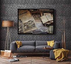 Obrazy - STARÉ ČASY časopisy poster A0 84,1 × 118,9cm - 7258870_