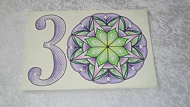 Papiernictvo - Pohľadnica A5 - Mandala