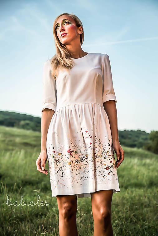 Šaty - Robe Pleine de Fleurs - 7261148_