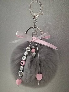 Kľúčenky - prívesok na kabelku/batoh - 7259376_