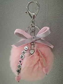Kľúčenky - prívesok na kabelku/batoh - 7259399_