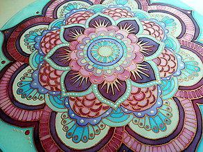 Dekorácie - Mandala ženskej energie a pochopenia - 7261228_