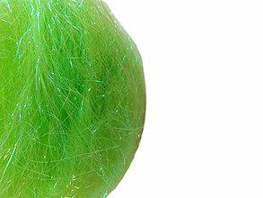 Iný materiál - Angelina tepelne lepivá - neónovo zelená - 7260466_