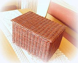 Košíky - Košík truhlica- Vierka 2 - 7259095_