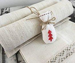 Úžitkový textil - Darčeková súprava NATUR - 7258428_