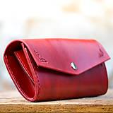 Peňaženky - Vintage peňaženka červená - 7261894_