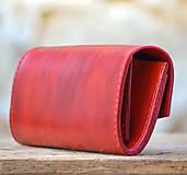 Peňaženky - Vintage peňaženka červená - 7261900_