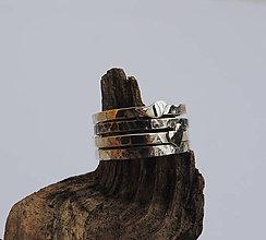 Prstene - prstienky tepané ..kúsok lásky, kúsok voľnosti... - 7264100_