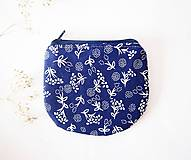 - Peňaženka - modrotlač - 7265065_
