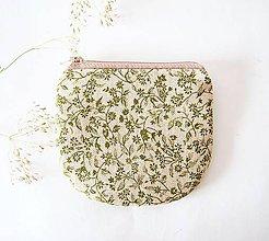 Peňaženky - Peňaženka - režná bylinková - 7265249_