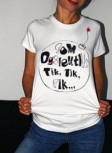 Tričká - Som Dyslektik :) / vel. S / Akcia !!! - 7263508_