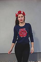 Dámske tričko Red folk (dlhý rukáv)