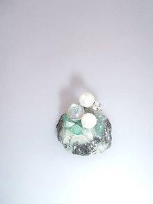Prstene - labradorit perly prsteň strieborný - 7263191_