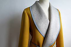 Kabáty - city style kabátik - 7265896_