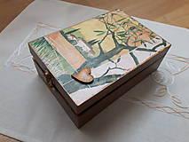 Krabičky - Čajovka - Za dedinou... nielen na čajové vrecúška - 7265959_