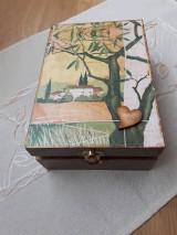 Krabičky - Čajovka - Za dedinou... nielen na čajové vrecúška - 7265981_