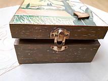 Krabičky - Čajovka - Za dedinou... nielen na čajové vrecúška - 7265991_