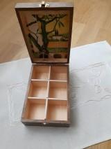 Krabičky - Čajovka - Za dedinou... nielen na čajové vrecúška - 7266004_