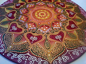 Dekorácie - Mandala rodiny, lásky a pochopenia - 7266902_
