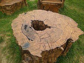 Nábytok - masívny drevený stôl - 7263756_