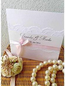 Papiernictvo - svadobné oznámenie 204 - 7263494_
