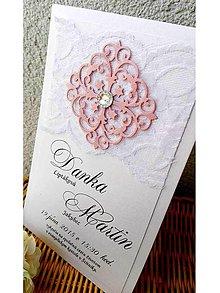 Papiernictvo - svadobné oznámenie 203 - 7263501_