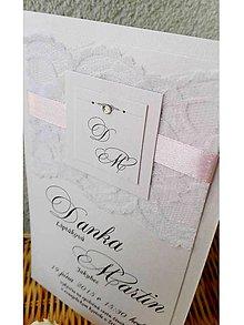 Papiernictvo - svadobné oznámenie 202 - 7263531_