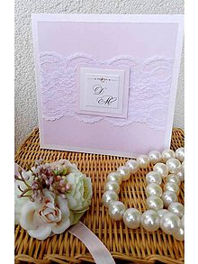 Papiernictvo - svadobné oznámenie 200 - 7263545_