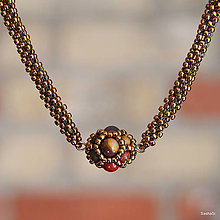 Náhrdelníky - Náhrdelník s jaspisom - 7265149_