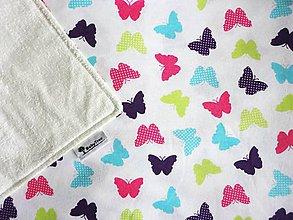 Detské doplnky - Na krídlách motýľa - Prebaľovacia podložka Compact - 7266576_