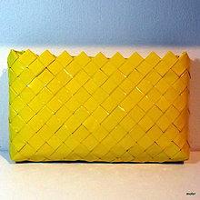 Kabelky - žltá listovka - 7265880_