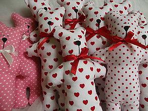 Darčeky pre svadobčanov - Macíky do ručičky :-) - 7262698_