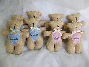 Darčeky pre svadobčanov - Macíky do ručičky :-) - 7262755_