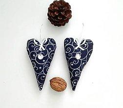 Dekorácie - Modré vianoce - 7267998_