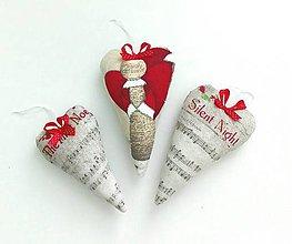 Dekorácie - Vianočná pieseň - 7268041_