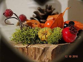 Dekorácie - Drobná a nežná jeseň - 7270630_