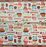 Papier - S823 - Servítky - cupcake, muffin, koláčik, cake - 7267793_