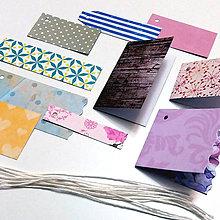 Papiernictvo - Dizajnové etikety - mix - 7267742_