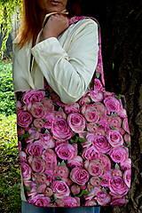 Veľké tašky - Ruže na pleci - 7271061_